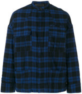 Haider Ackermann tartan pattern jacket