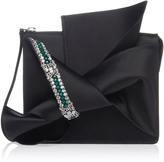 N°21 N21 Knotted Clutch with Embellishments