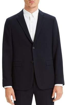 Theory Clinton Textured Seersucker Regular Fit Blazer