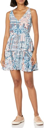 MinkPink Women's Marrakech Boho Printed Dress