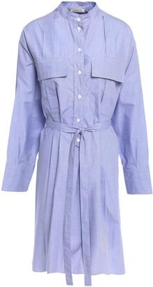 Nina Ricci Cotton-poplin Mini Shirt Dress