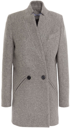 IRO Carey Double-breasted Wool And Cashmere-blend Felt Coat