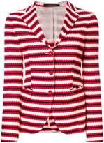 Tagliatore striped fitted blazer