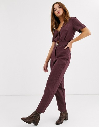 Stevie May Fia belted jumpsuit