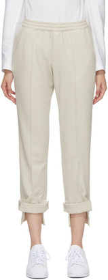 Y-3 Beige Tailored Classic Track Pants