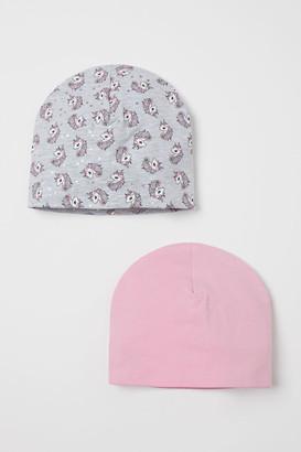 H&M 2-Pack Cotton Hats