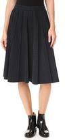 Marc Jacobs Pleated Panel Skirt