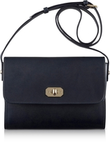 A.P.C. Greenwich Black Leather Crossbody Bag