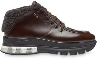 Fendi lace-up ankle boots