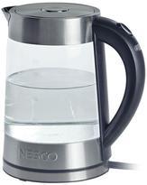 Nesco 1.8 qt. Electric Glass Water Kettle in Silver
