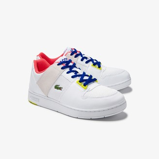 Lacoste Juniors' Thrill Synthetic and Suede Trainers