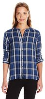 Calvin Klein Jeans Women's Easy Plaid Button Down