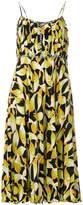 No.21 pleated print dress