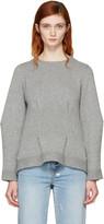 Alexander McQueen Grey Cashmere Crewneck Sweater