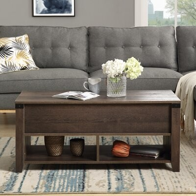 Williston Forge Galena Coffee Table With Storage Shopstyle
