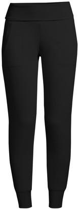 Beyond Yoga Cozy Fleece Fold-Over Pants