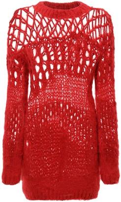 Junya Watanabe Openwork Wool Knit Sweater