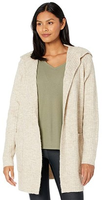 Lole Evelyn Cardigan (Oatmeal Heather) Women's Clothing