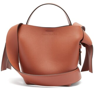Acne Studios Musubi Mini Leather Cross-body Bag - Tan