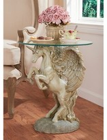 Toscano Mystical Winged Unicorn End Table Design