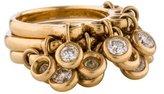 Ring Diamond Stacking Rings