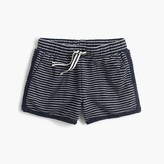 J.Crew Girls' pull-on short in stripe