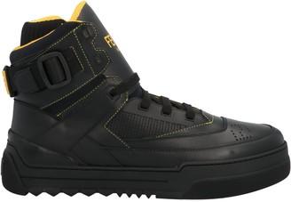 Fendi Basketball High-Top Sneakers