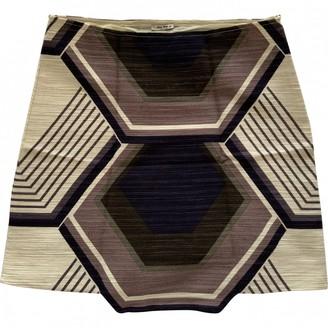 Miu Miu Ecru Linen Skirt for Women Vintage