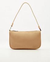 Le Château Faux Leather & Lycra Shoulder Bag