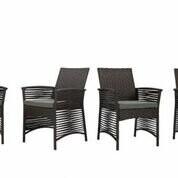 Pool' Bay Isle Home Codman Backyard Pool Steel Frame Patio Chair with Cushions Bay Isle Home Color: Chocolate