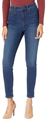 Madewell Curvy High-Rise Skinny Jeans in Sussex Wash (Sussex Wash) Women's Jeans