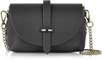 Le Parmentier Caviar Small Black Leather Shoulder Bag