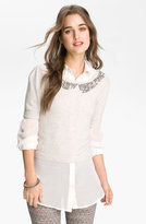 Free People 'City Of Dreams' Embellished Sweater
