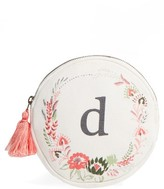 Nordstrom Floral Monogram Pouch