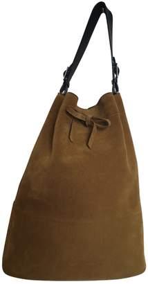 Celine Khaki Suede Handbags