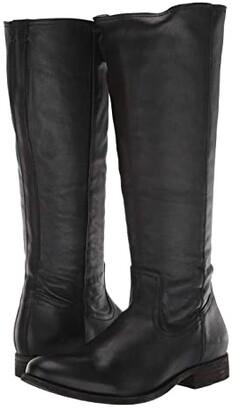 Frye Melissa Inside Zip Tall (Black) Women's Boots