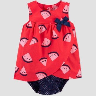 Carter's Baby Girls' Watermelon Romper - Just One You® made by Blue