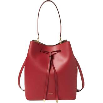 Lauren Ralph Lauren Red Leather Handbags