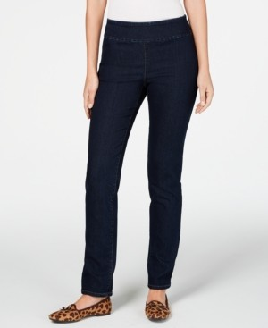 Charter Club Cambridge Pull-On Slim Fit Jeans, Created for Macy's