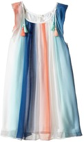 Chloe Kids Mini Me Couture Rainbow Striped Sleeveless Dress (Little Kids)