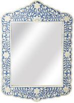 Butler Specialty Bone Inlay Mirror, Blue
