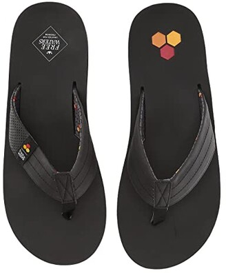 Freewaters Channel Islands - Britt (Black/Channel Islands) Men's Sandals