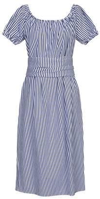 MDS Stripes Knee-length dress