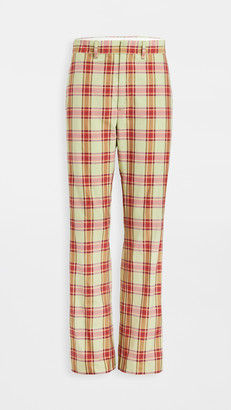 Toga Pulla Madras Check Pants