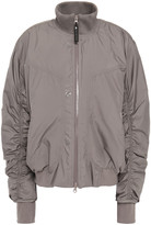 Thumbnail for your product : adidas by Stella McCartney Ruched Shell Bomber Jacket