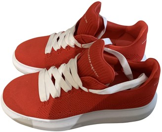 Alexander McQueen Oversize Red Polyester Trainers