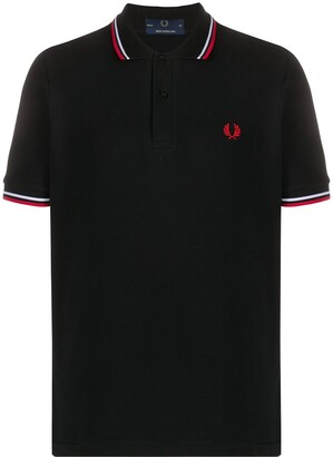 Fred Perry Stripe Trim Polo Shirt