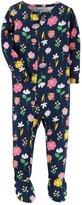 Carter's Baby Girl Unicorn Footed Pajamas