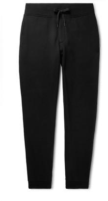 Rag & Bone Tapered Brushed Fleece-Back Cotton-Jersey Sweatpants