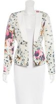By Malene Birger Silk Printed Blazer
